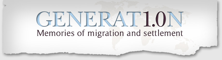 Generation1 - Memories of migration and settlement